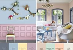 Plascon 2013 Colour Forecast - Pause ----- GOLD + Baby blue very Palace of Versailles, like it Plascon Paint Colours, Mr Price Home, Yellow Paint Colors, Pastel Home Decor, Pastel House, Paint Color Palettes, Yellow Interior, Color Inspiration, Ideal Home