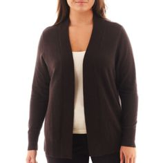 Worthington® Essential Open-Front Cardigan Sweater  found at @JCPenney