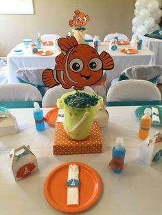 Finding Nemo  | CatchMyParty.com