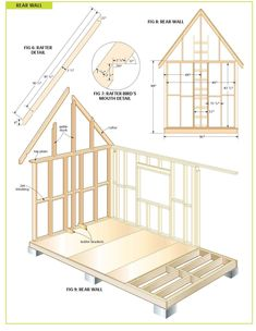 wood cabin plans, step by step guide to building a tiny house.free wood cabin plans, step by step guide to building a tiny house. Wood Shed Plans, Free Shed Plans, Storage Shed Plans, Cabin Plans, Diy Storage, Tiny House Plans Free, Building A Tiny House, Tiny House Cabin, Building A Shed