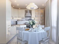 dining table creating plenty room for footfall and design ideas kitchen luxury