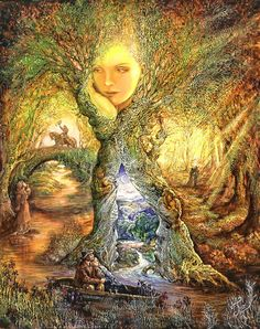 Willow World by Josephine Wall