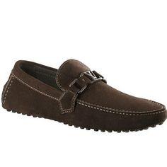 Louis Vuitton Hockenheim Moccasin In Suede Calf Leather Yr3K1Msc Buq-$233