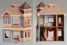 Hallmark Nostalgic Houses & Shops at Replacements, Ltd Vampire House, Christmas Time, Christmas Ornaments, Dollhouse Ideas, Hallmark Ornaments, Doll Houses, Victorian Homes, Plastic Canvas, Nostalgia