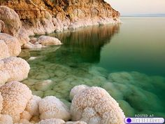 The Dead Sea...Israel.