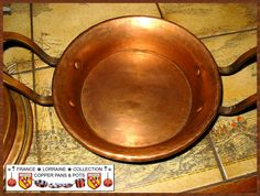 French Copper Tourtière, beautiful handmade work part 6