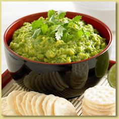 Asian Guacamole  (Just substitute the fish sauce with vegetarian patis) =)