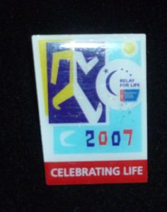 Relay For Life 2007 Celebrating Life Pin