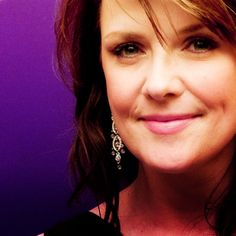 Amanda Tapping. Canadian. Actress. Producer. Philanthropist. All around awesome.
