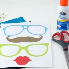 Printable Photobooth Props