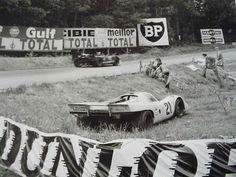 1970 .. Le Mans , entered by J.W. automotive engineering Ltd. Porsche 917 , driven by P Rodriguez / L.Kinnunen DNF>cooling fan drive .