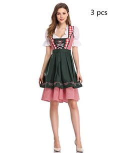 44dcd3700208 GloryStar Women's German Dirndl Dress Costumes for Bavari... #Halloween  #halloweendecorations #