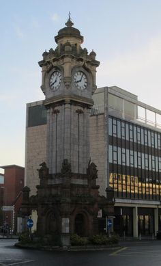 Clock Tower in Exeter, England