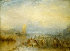 Joseph Mallord William Turner 'Margate Harbour', c.1835–40 © Board of Trustees of the National Museums and Galleries on Merseyside