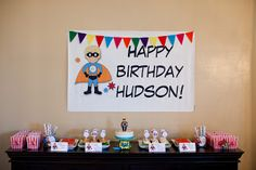 Domestic Charm: Hudson's Superhero Party
