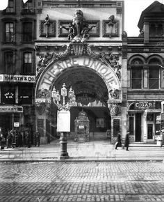 Daytonian in Manhattan: The Lost 1907 Theatre Unique -- 136 East 14th Street
