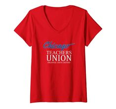 Womens Chicago Teachers Union On Strike Red For Ed V-Neck T-Shirt Chicago Teachers Union On Strike T Shirt Women, Coffee Quotes Funny, Funny Coffee, Pregnant Halloween, Funny Halloween, Family Halloween, Easy Halloween, Halloween Party, T Shirts