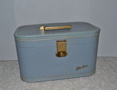 Starline Train Case ~ Overnight Bag ~ Make Up Case ~ Travel ~ Vintage Luggage ~ Epsteam