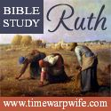 Bible Study - Ruth Chapter 1 & a Link up! - Time-Warp Wife | Time-Warp Wife
