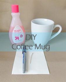Kianny Cordon: DIY Coffee Mug
