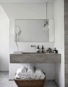 Inspiration for your bathroom | 50 shades of grey