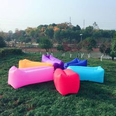 Fast Inflatable Lazy Air Lounger