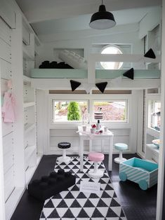Among the terrific ways to bring your yard to life with flashes of color, nature's music and amusement is to provide your birds with their own private nesting area. Playhouse Interior, Backyard Playhouse, Build A Playhouse, Wooden Playhouse, Playhouse Decor, Inside Playhouse, Playhouse Ideas, Kids Cubby Houses, Kids Cubbies