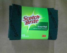 3M Scotch Brite Scouring Pad Pack of 15 #3M