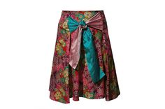 C.31 Skirt made of japanese cotton cloth and silk. One size. Clothes - CHIARA PIZZINATO Atelier