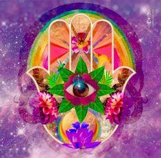 Talk To The Hand, Cosmic Art, Dear Self, Hamsa Hand, Third Eye, New Day, Spirituality, Collage, Photo And Video