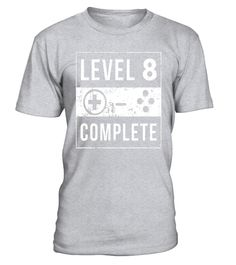 """# 8th Birthday Gifts 8 Year Old Bday Gamer Gaming Shirt . Special Offer, not available in shops Comes in a variety of styles and colours Buy yours now before it is too late! Secured payment via Visa / Mastercard / Amex / PayPal How to place an order Choose the model from the drop-down menu Click on """"Buy it now"""" Choose the size and the quantity Add your delivery address and bank details And that's it! Tags: Shirts are designed to be fitted. For a loose fit consider ordering a larger size than…"""