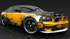 Com Tuning Muscle Cool Car Wallpaper With 1366×768 Resolution