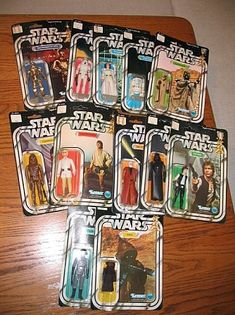 Star Wars action figures by Kenner/Palitoy, c. 1977