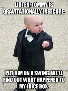 Gravitational insecurity