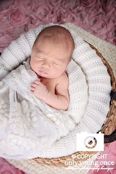 "At just 6 days new, Miss Piper rocked her session! Pooped a ""few"" times, but did absolutely wonderful in front of the camera!! Her mom mentioned that it was a relief to read in my newborn information that bodily fluids during sessions are normal and expected. :) I've taken pride in the fact that I've tried to create a stress-free, laid-back atmosphere for all sessions but especially my newborn sessions. I try to make sure clients know up front what to expect from their session and during the…"