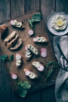 Whipped and herbed ricotta tartines | Nothing but Delicious