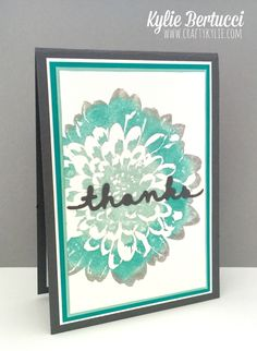 Stampin' Up! Australia: Kylie Bertucci Independent Demonstrator: Crazy Crafters Blog Hop July - Theme: Favourite Colour Combo