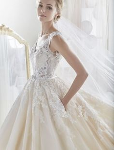 Champagne, Gowns, Wedding Dresses, Fashion, Dresses, Bridal Gowns, La Mode, Weding Dresses, Bridal Gown