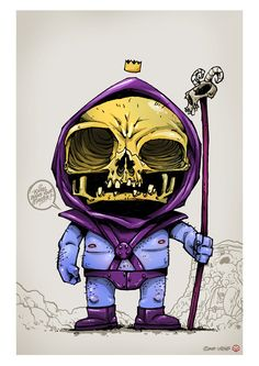 THE MASTERS OF THE UNIVERSE SERIES by Clog Two, via Behance