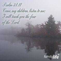 Psalm 34:11