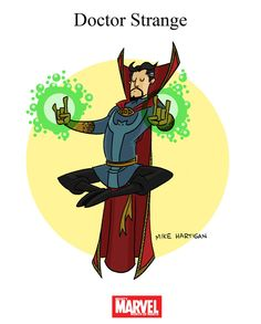 Mighty Marvel Month of March - Doctor Strange by tyrannus on DeviantArt