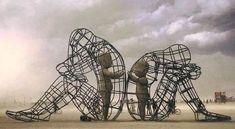 sculpture amour artiste : Alexander Milov l'enfant intérieur seance de yoghttp://ressourcenergie.canalblog.com/archives/2016/03/01/33450254.htmla