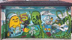Loves finding another @Uber5000 #TorontoGraffiti #Graffiti #StreetArt #GraffitiArt #TDot #GraffitiIgers #Alleyway #TorontoGraff #PublicArt #GraffitiPorn #Bird #GraffitiAlley #StreetsOfToronto #Squid #InstaGraff #YYZ #WallPorn #SprayArt #LoveToronto #StreetArtEverywhere #Mural #AerosolArt #InstaGraffiti #416 #UrbanArt #City #Toronto #Ontario #Canada by deuxroux