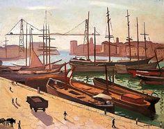 bofransson: Albert MARQUET - Le port de Marseille, France