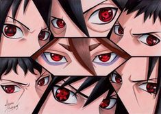 Out of all uchiha who has the most menacing stare