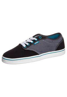 Vans - PRESTON - Sneaker - black/pagoda