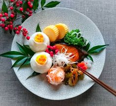 hi___ro? Japanese New Year, Japanese Food, Home Recipes, Asian Recipes, Food Art For Kids, Sashimi, Food Presentation, Food Styling, Food And Drink