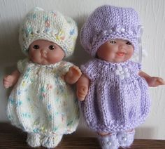 http://www.ravelry.com/patterns/library/bubble-dress--hat-set-5-inch-itty-bitty-baby-doll