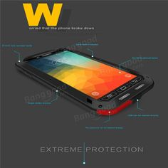 Shockproof Dustproof Waterproof Gorilla Glass Case For Samsung Galaxy Note 5 Sale - Banggood.com