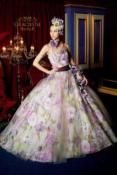 Color dress NO.160385   ウェディングドレスレンタル 東京・横浜の貸衣装「モード・マリエ」